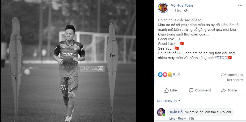 Bị thầy Park gạch tên khỏi ĐT Việt Nam, các tuyển thủ nói gì?