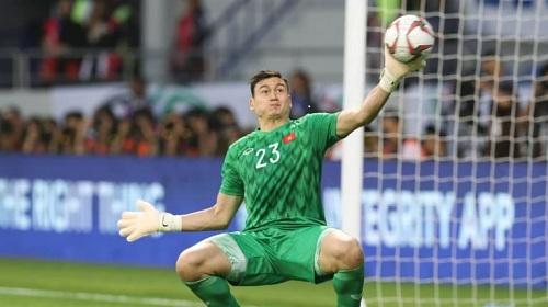 Văn Lâm lọt top 10 thủ môn xuất sắc nhất vòng loại World Cup 2022