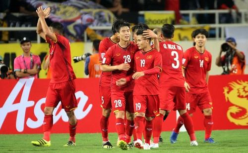 ĐT Việt Nam thăng tiếng trên BXH FIFA sau khi hạ gục Malaysia