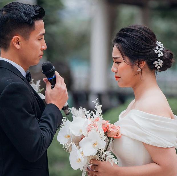 Khánh Linh bật khóc khi chia sẻ lý do kết hôn với Bùi Tiến Dũng